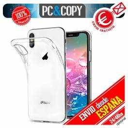 Funda gel TPU flexible transparente para iPhone X 5,8 Silicona Ultra-thin cover