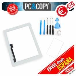 Pantalla táctil ipad 3 blanca con marco, adhesivo y herramientas Touch screen New