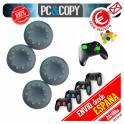 4 Fundas tapas Gris silicona joystick mando PS3 PS4 Playstation XBOX tapon palancas