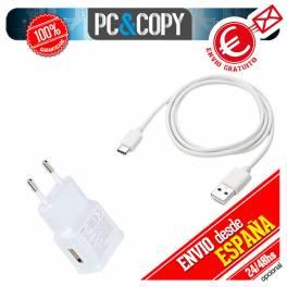 Cargador para Movil 2A USB BLANCO enchufe carga rapida UNIVERSAL SMARTPHONE