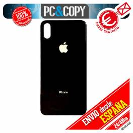Tapa trasera iPhone X Negra Repuesto Carcasa bateria cubierta Chasis cover