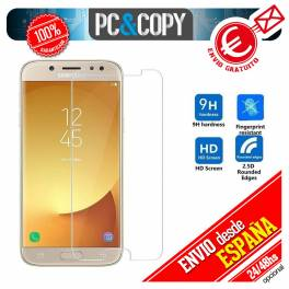 Cristal templado pantalla Samsung Galaxy J5 2017 y J7 2017 HD 0,3mm 9H
