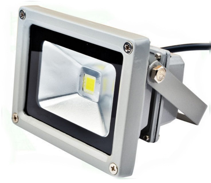 S1146 Foco Proyector LED 10W Luz Reflector 6000K Lampara Exterior IP65 Impermeab