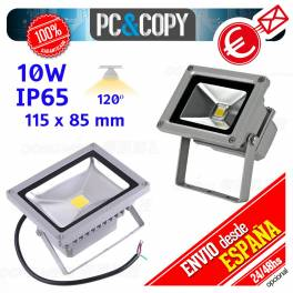 Foco Proyector LED 10W Reflector Luz 6000K Lampara Pared Exterior IP65