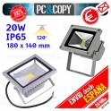 Foco Proyector LED 10W Reflector Luz 6000K Lampara Pared Exterior IP65