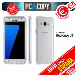 Funda gel TPU flexible 100% transparente SAMSUNG Galaxy J7(2016) J700 J7009
