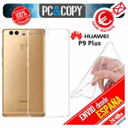 Funda gel TPU flexible 100% transparente HUAWEI P9 Plus VIE-L09