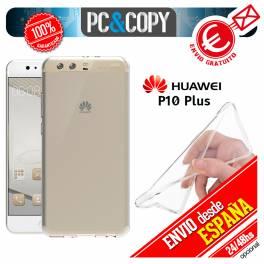 Funda gel TPU flexible 100% transparente HUAWEI P10 Plus ultrafina ligera