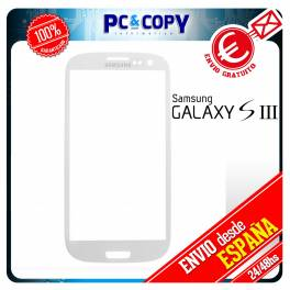CRISTAL DE PANTALLA TACTIL PARA SAMSUNG GALAXY S3 i9300 TOUCH SCREEN BLANCO LCD