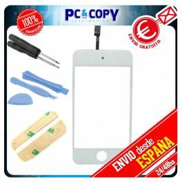 Pantalla Tactil iPod 4 4G GEN BLANCO DIGITALIZADOR TOUCH + ADHESIVO Y HERRAMIENTAS