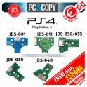 Conector Carga Mando PlayStation 4 placa corriente PS4 con flex JDS050 011 001 030 040 Power Jack
