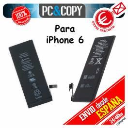 Batería interna para iPhone 6 capacidad 1810 mAh igual que la original. Battery