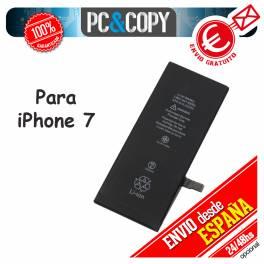 Batería interna para iPhone 7 capacidad 1960mAh igual que la original