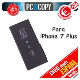 Batería interna para iPhone 7Plus capacidad 2900mAh igual que la original
