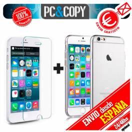 Funda gel TPU flexible transparente iPhone 7 y 8 (4.7) Ultra-thin cover silicona