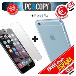 Funda gel TPU flexible transparente para iphone 6 plus. Ultra-thin cover iphone6