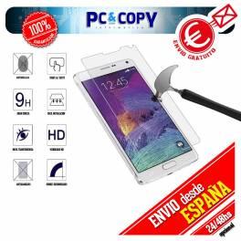 Cristal templado protector pantalla Samsung Galaxy Note 4 calidad Premium 0,3mm 9H