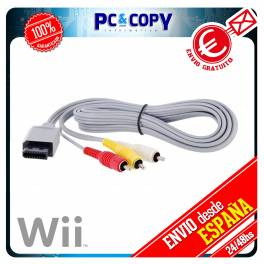 CABLE AV VIDEO PARA NINTENDO WII NUEVO AUDIO Y VIDEO