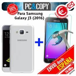 Funda gel TPU flexible 100% transparente SAMSUNG Galaxy J3 J310 J3 (2016)