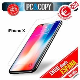 Cristal templado Protector pantalla Para iphone X 5,8' Calidad Premium 9H