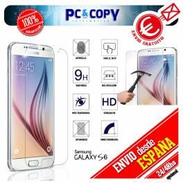 Cristal templado protector pantalla Samsung Galaxy S6 calidad Premium 0,3mm 9H