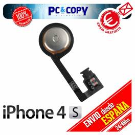 Cable flex boton home membrana pulsador iphone 4s home button menu repuesto nuevo