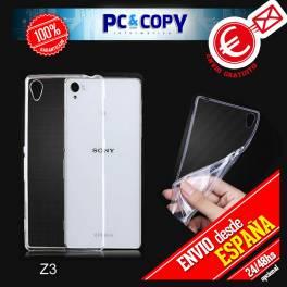 Funda gel TPU flexible para SONY Xperia Z3