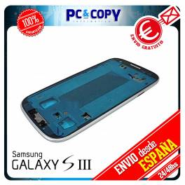 MARCO LATERAL CHASIS SAMSUNG GALAXY S3 BLANCO I9300