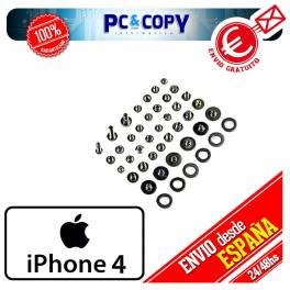 Pack tornillos iphone 4/4G Kit tornillos iphone 4 Set arandelas iphone 4
