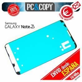 ADHESIVO PEGATINA MARCO PANTALLA CRISTAL SAMSUNG GALAXY NOTE 3 N9000