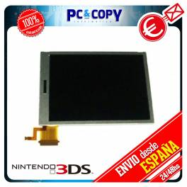 PANTALLA LCD TFT NINTENDO 3DS INFERIOR DOWN DS NDS N3DS DISPLAY REPARACION CAMBIO