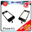 PANTALLA TACTIL IPHONE 4S MARCO DIGITALIZADOR CRISTAL TOUCH SCREEN NEGRO