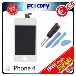 Pantalla LCD + Tactil completa para iPhone 4 4G Blanco Calidad A+ + HERRAMIENTA