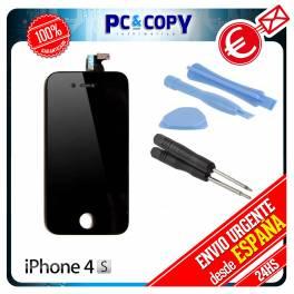 Pantalla LCD + Tactil completa para iPhone 4S NEGRO Calidad A+ HERRAMIENTAS