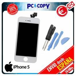 Pantalla LCD RETINA + Tactil completa iPhone 5 5G BLANCO Calidad A+ ORIGINAL + HERRAMIENTA