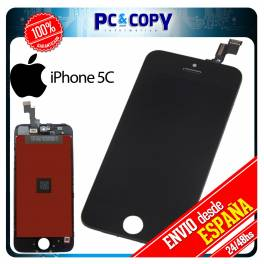 Pantalla LCD RETINA + Tactil completa para iPhone 5C NEGRO SCREEN ORIGINAL Calidad A+