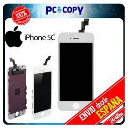 Pantalla LCD RETINA + Tactil completa para iPhone 5C BLANCO SCREEN ORIGINAL Calidad A+