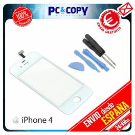 PANTALLA TACTIL PARA IPHONE 4 4G 4S DIGITALIZADOR BLANCO + HERRAMIENTAS A+