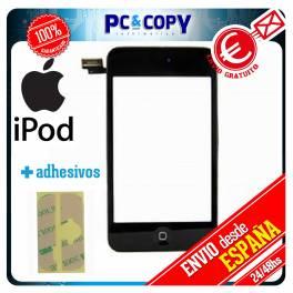 Pantalla Tactil iPod 2 2G CON MARCO GEN NEGRO DIGITALIZADOR TOUCH + ADHESIVO