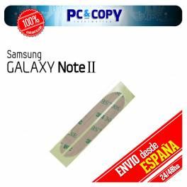 ADHESIVO PEGATINA MARCO PANTALLA CRISTAL SAMSUNG GALAXY NOTE 2 N7100
