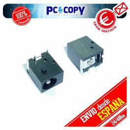 CONECTOR DC POWER JACK PJ003 - 1.65mm ASUS COMPAQ HP. CONECTOR PORTATIL PJ003